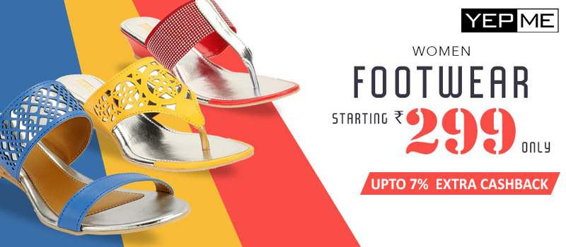 yepme footwear offers