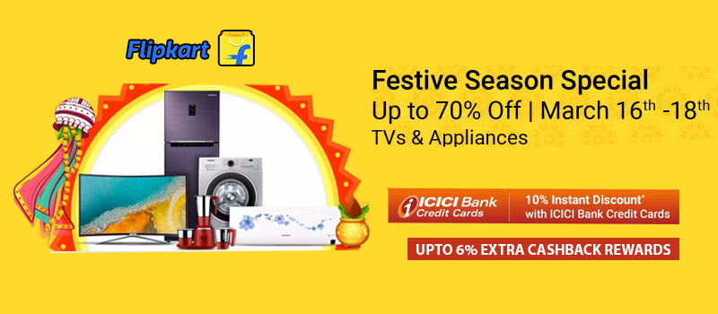 festival sale , offers for appliances