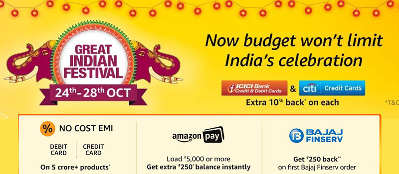 indian festival sale offers