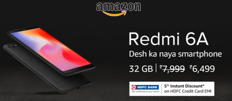 redmi 6A offers