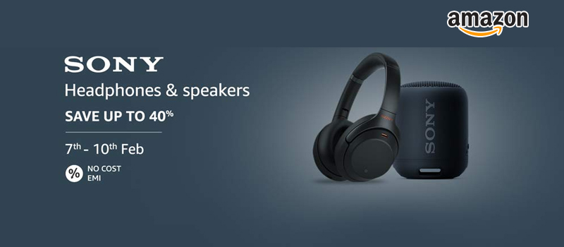 sony headphone offers